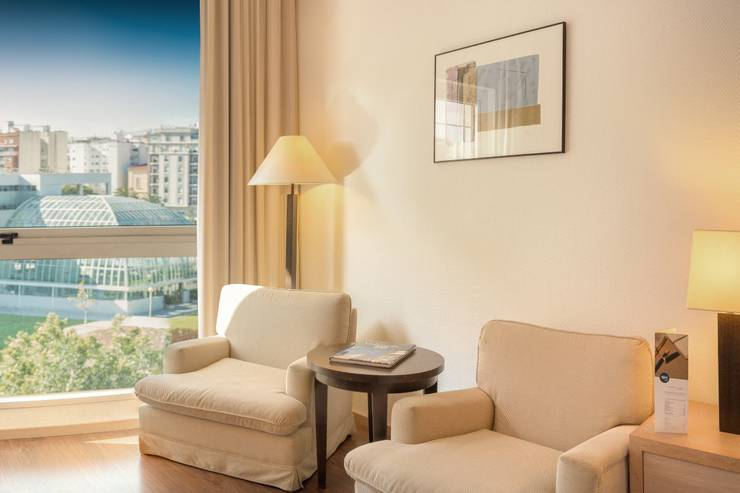 Superior rooms with views hotel sh valencia palace